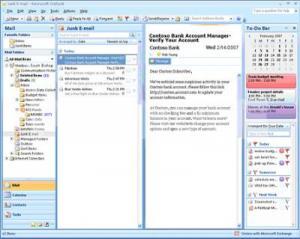 Microsoft Outlook - Скриншоты