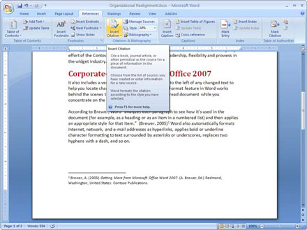 Microsoft Office - Скриншоты